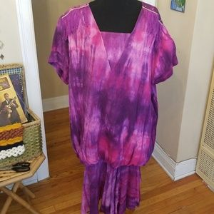 VTG Amazing Tiedied Low Waisted Dress!